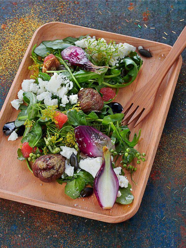 Salade composée - Photo : C. Sautereau