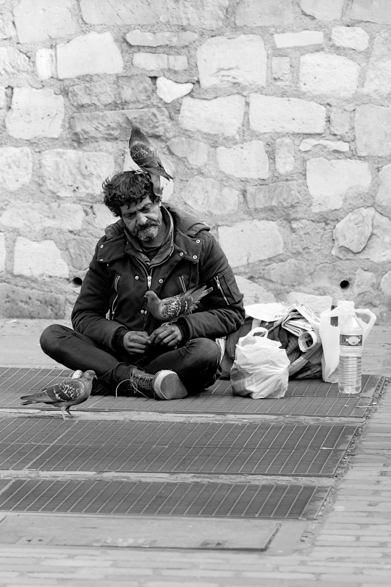 ©Pixellie - l'homme qu'on ne voit plus