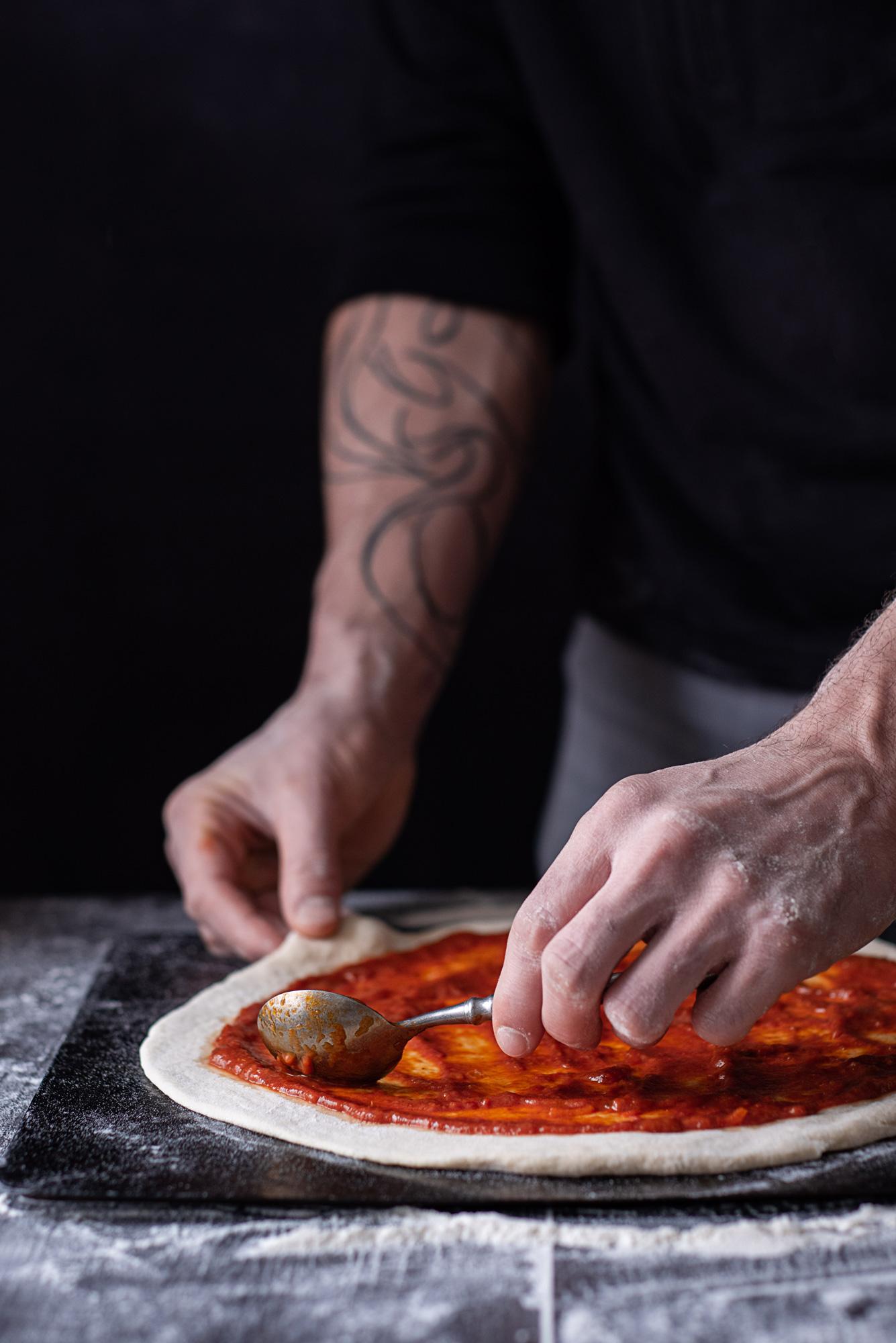 Pizza margarita ©Emilie Munck Montuclard - Pixellie.fr