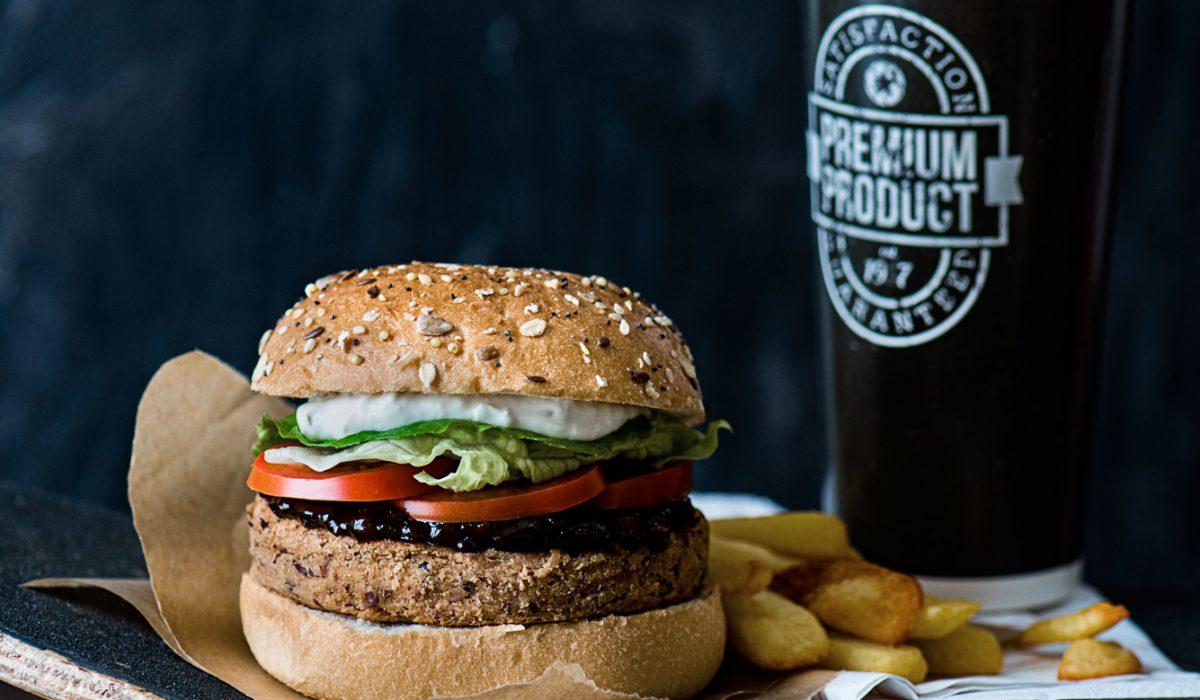 Pixellie - Veggie burger