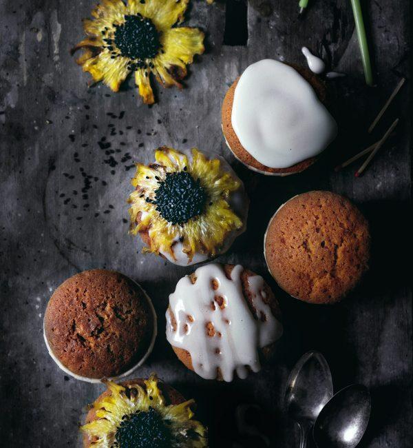 Pixellie - Petits gâteaux tournesol